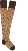 Gucci GG cotton-blend over-the-knee socks