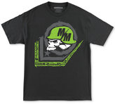 Metal Mulisha Men's Scale Logo Print Cotton T-Shirt