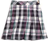 Brooks Brothers Pleated Tartan Skirt