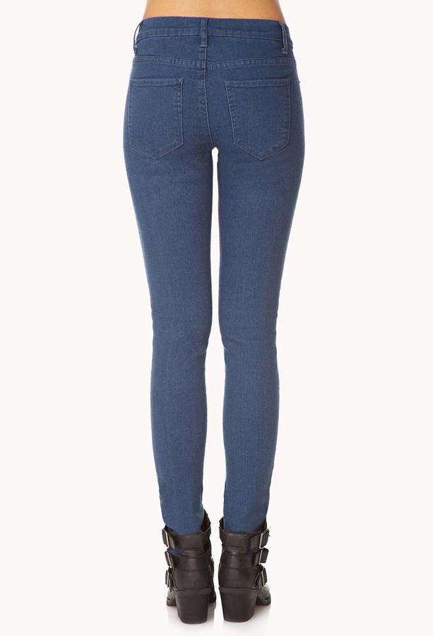 Forever 21 Americana Skinny Jeans
