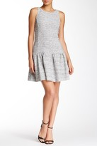 Jessica Simpson Bateau Neck A-Line Dress JS5X7157