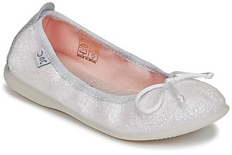Citrouille et Compagnie IGLITO girls's Shoes (Pumps / Ballerinas) in White