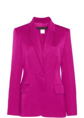 Martin Grant Single-Breasted Cotton-Silk Jacket