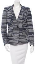 Derek Lam Textured Button-Up Blazer