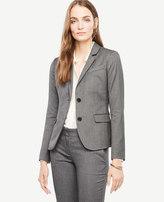 Ann Taylor Tall Sharkskin Two Button Jacket