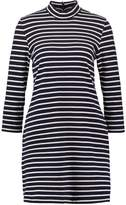 Wood Wood MARY Summer dress navy/offwhite
