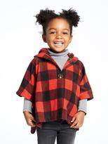 Old Navy Hooded Fleece Poncho for Toddler Girls