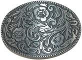 CTM® Floral Print Belt Buckle