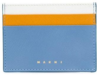 Marni colourblock card holder