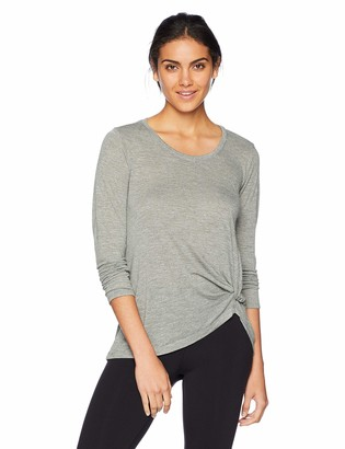 Spalding Women's Knotted Long Sleeve T-Shirt