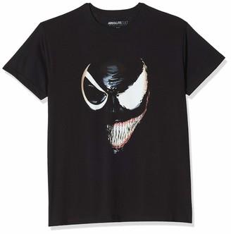 Marvel Girl's Universe Venom Split Face T-Shirt