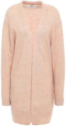 Acne Studios Melange Brushed-knitted Cardigan