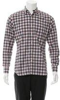 Tomas Maier Plaid Button-Down Shirt