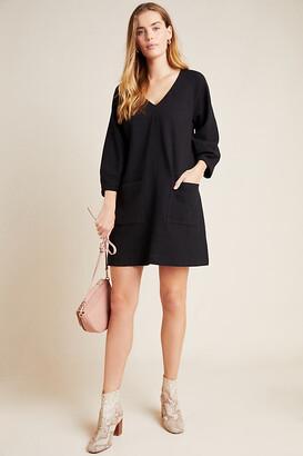 Maeve Angelika V-Neck Tunic By in Black Size XS