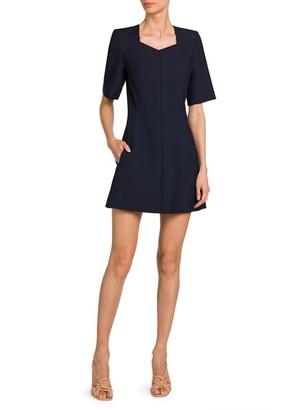 Stella McCartney Wool-Blend Mini Dress