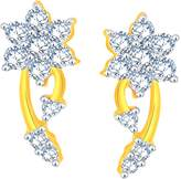 Giantti Gold 14KT Diamond Women's Stud Earring - IGL Certified (1.11 Ct, SI Clarity, GH-Colour)