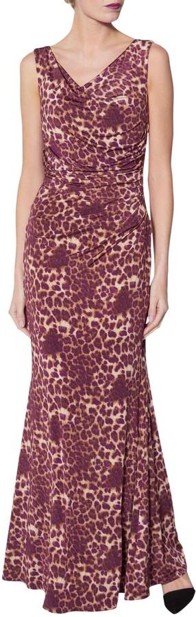 Thumbnail for your product : Gina Bacconi Alesana Print Dress, Magenta