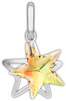 Swarovski Crystal Double Star Charm