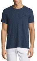 Burberry Millbrook Flecked Jersey T-Shirt, Dark Navy
