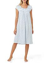Eileen West Ruffled Floral Jersey Waltz Nightgown
