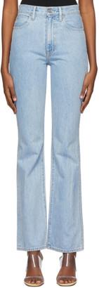 SLVRLAKE Blue Charlotte Bootcut Jeans