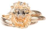 Judith Leiber Chain-Link Lion Belt