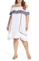 Plus Size Women's Muche Et Muchette Gavin Ruffle Cover-Up Dress