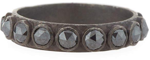 Armenta New World Black Diamond Ring, Size 6.5