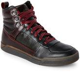 Diesel Oxblood Red Tempus Onice Sneakers