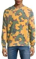 Eleven Paris Camouflage Cotton Sweatshirt