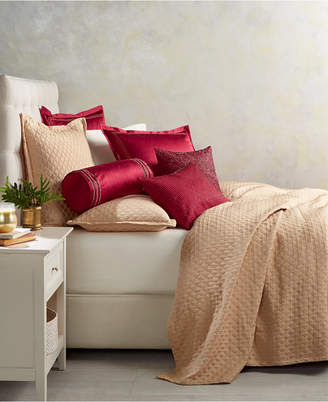 Hotel Collection Luxe Border Quilted Full/Queen Coverlet, Bedding