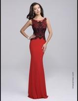 Nina Canacci - 8124 Dress in Red/Black