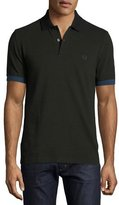 Fred Perry Contrast-Cuff Piqué Polo Shirt