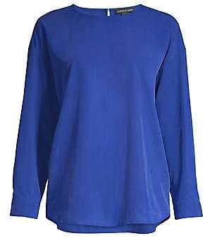 Eileen Fisher Women's Bracelet-Sleeve Blouse