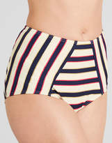 Figleaves swimwear Santa Cruz High Waisted Tummy Control Brief