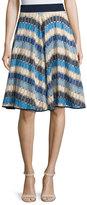 Milly Marina Mitered Circle Skirt