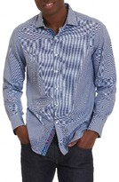 Robert Graham Men's Jain Classic Fit Print Sport Shirt