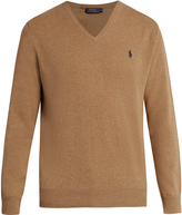 Polo Ralph Lauren V-neck wool sweater