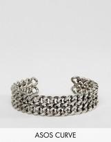 Asos Curb Chain Cuff Bracelet