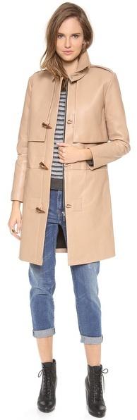 Rebecca Minkoff Eclipse Bonded Leather Coat