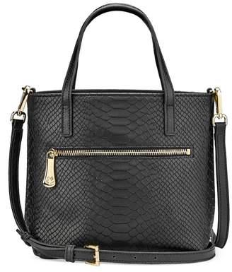 GiGi New York Billie Python-Embossed Leather Crossbody Bag
