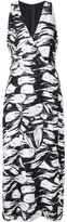 Yigal Azrouel abstract floral dress