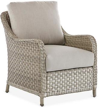 Mayfair Wicker Club Chair - Gray - South Sea Rattan