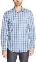 Calvin Klein Men's Cotton Tencel Long-Sleeve Shirt