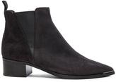 Acne Studios Suede Jensen Boots in Black.