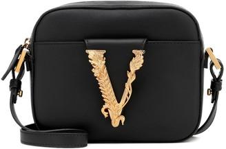 Versace Virtus leather crossbody bag
