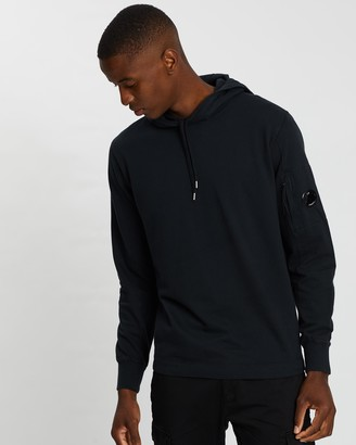 C.P. Company Garment Dyed Light Fleece Hoodie