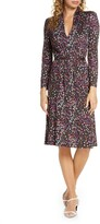 French Connection Frances Meadow Jersey Long Sleeve Dress