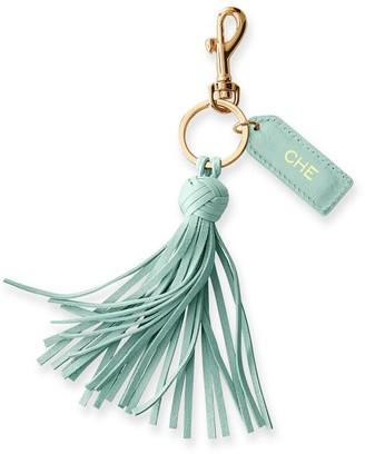 Mark And Graham Leather Tassel Keychain
