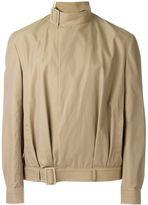 J.W.Anderson belted collar jacket - men - Cotton/Nylon/Cupro - 52